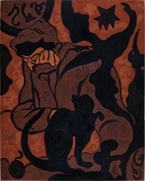Paul Ranson-La Sorcière au chat noir