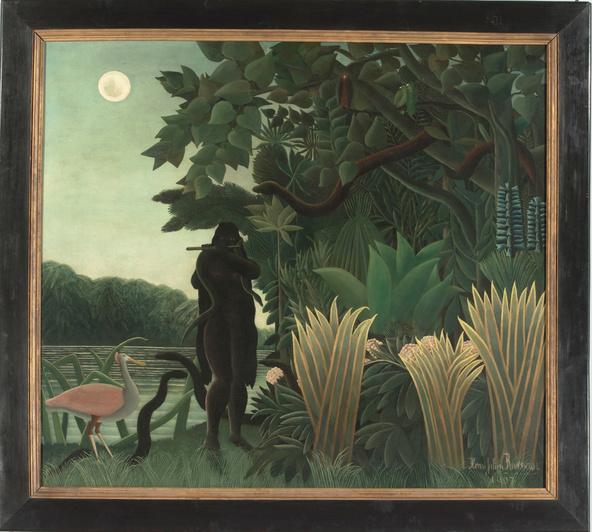 Henri Rousseau-La charmeuse de serpents