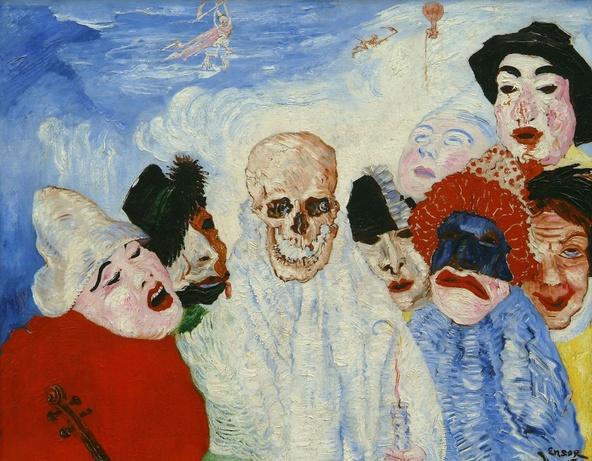 James Ensor-La Mort et les masques