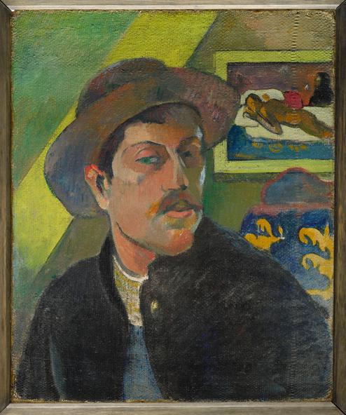 Paul Gauguin-Portrait de l'artiste