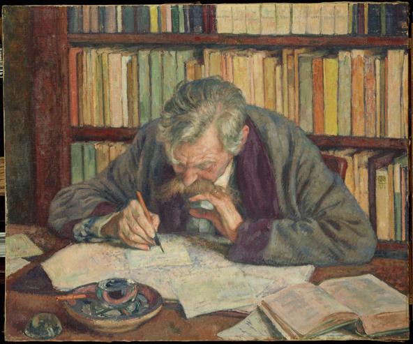 Théo Van Rysselberghe-Emile Verhaeren