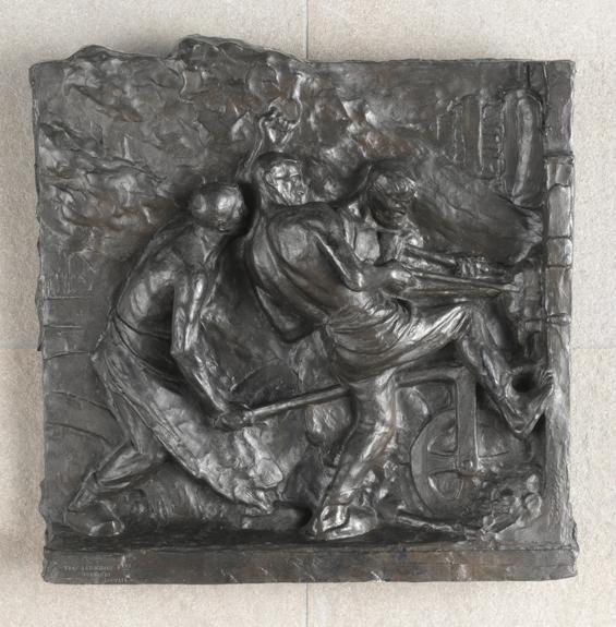 Constantin Meunier-Puddleurs au four, dit aussi Puddleurs sortant la loupe