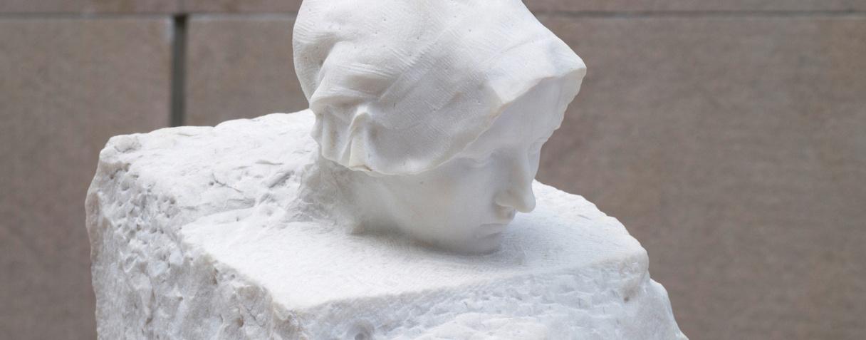 Détail de La Pensée (Vers 1895), Rodin, Auguste|Peter, Victor