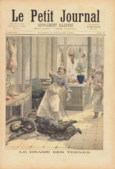 Henri Meyer, François-Louis Méaulle-Le drame des Ternes, Supplément illustré du Petit Journal