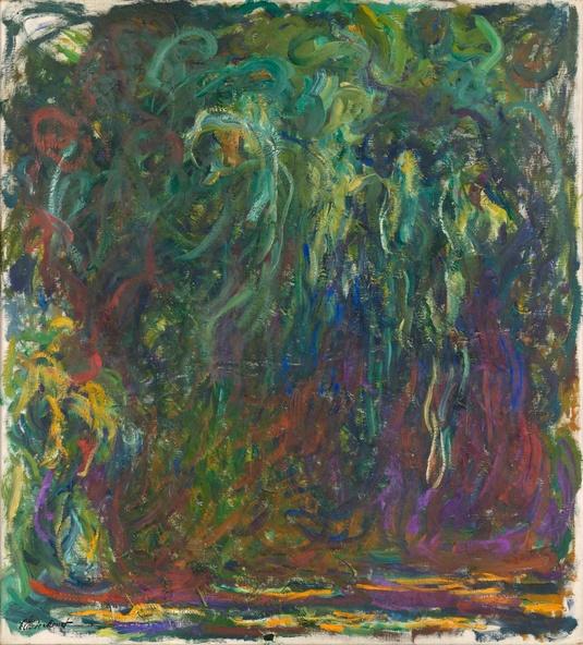 Claude Monet-Saule pleureur