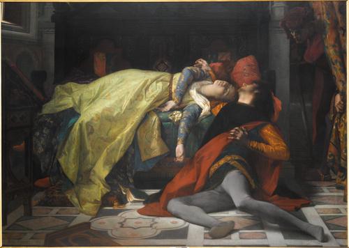 Mort de Francesca da Rimini et de Paolo Malatesta (en 1870), Alexandre Cabanel, Cabanel, Alexandre