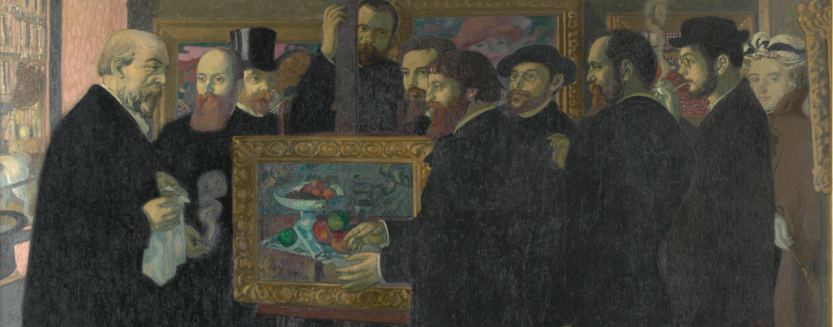 Hommage à Cézanne (en 1900), Denis, Maurice