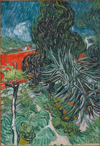 Vincent van Gogh-Dans le jardin du docteur Paul Gachet