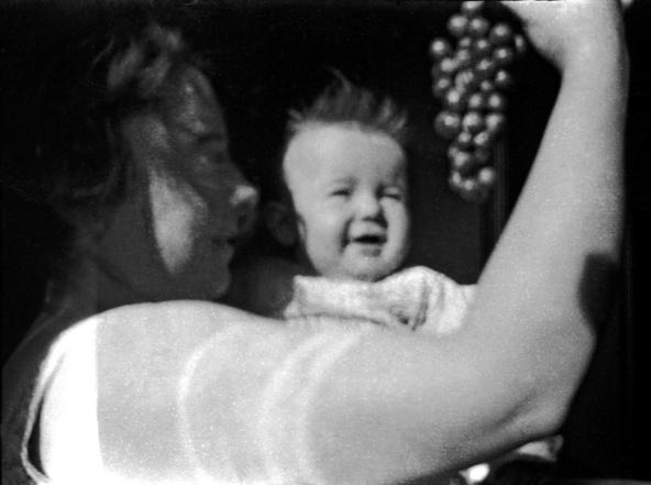 Maurice Denis-Marthe présentant une grappe à Bernadette, Le Pouldu