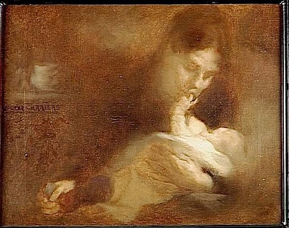 Eugène Carrière-Maternité
