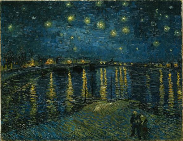 Vincent van Gogh-La nuit étoilée