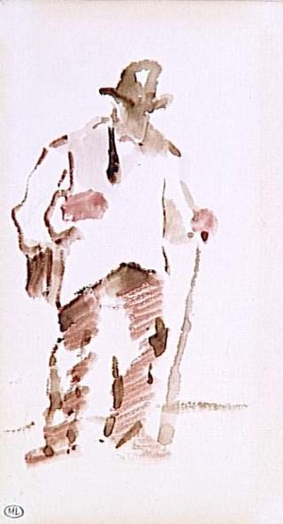 Edouard Manet-Etude de chiffonnier