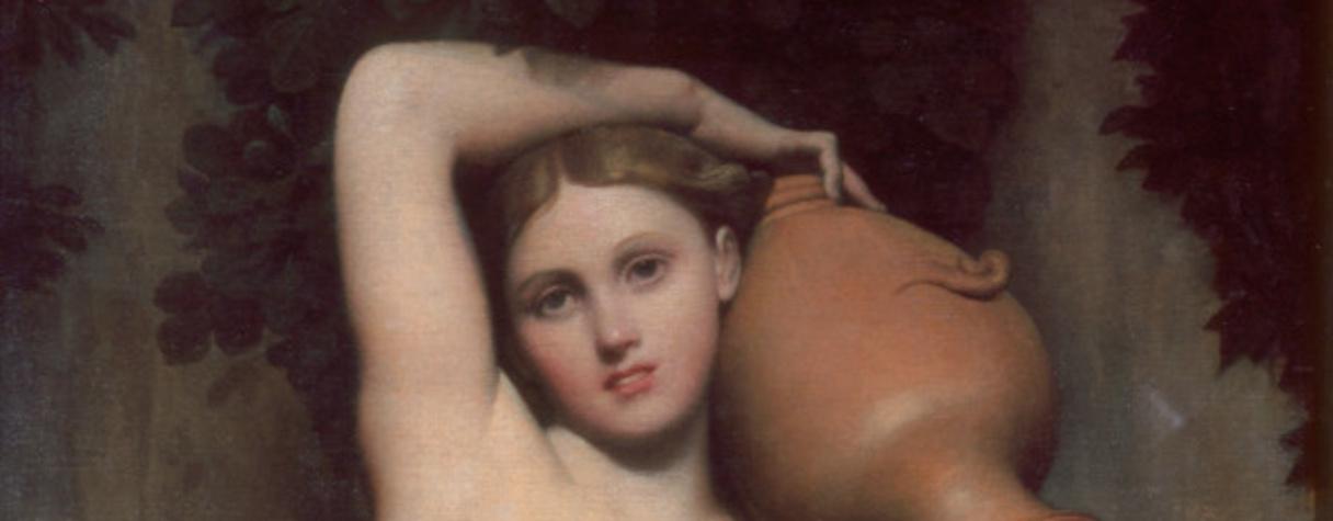 La Source, Ingres Jean-Auguste-Dominique (1780-1867) peintre,, Marquet de Vasselot, Anatole