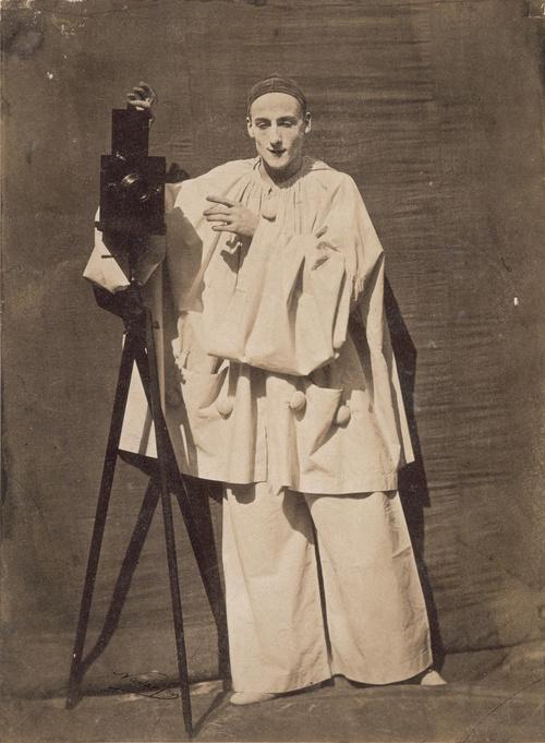 Pierrot Photographe (en 1854), Nadar, Félix