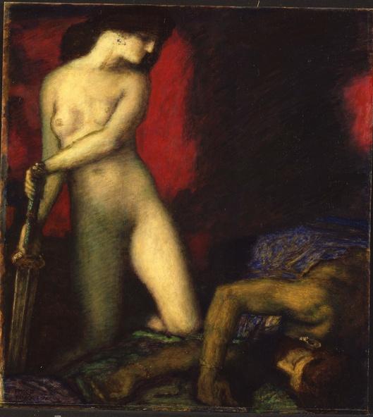 Franz von Stuck-Judith et Holopherne