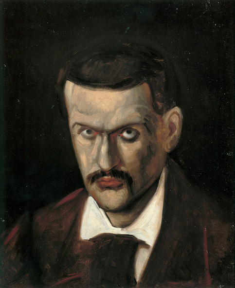 Paul Cézanne-Portrait de Paul Cézanne