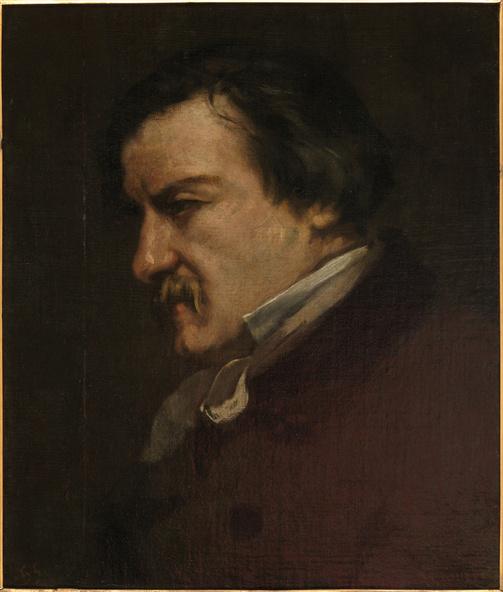 Gustave Courbet-Portrait de Champfleury
