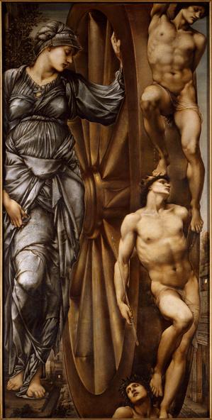 Edward Burne-Jones -La roue de la Fortune