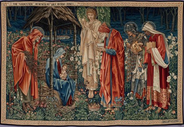 Edward Burne-Jones-L'adoration des mages