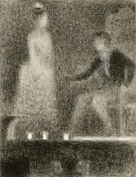 Georges Seurat-Scène de théâtre