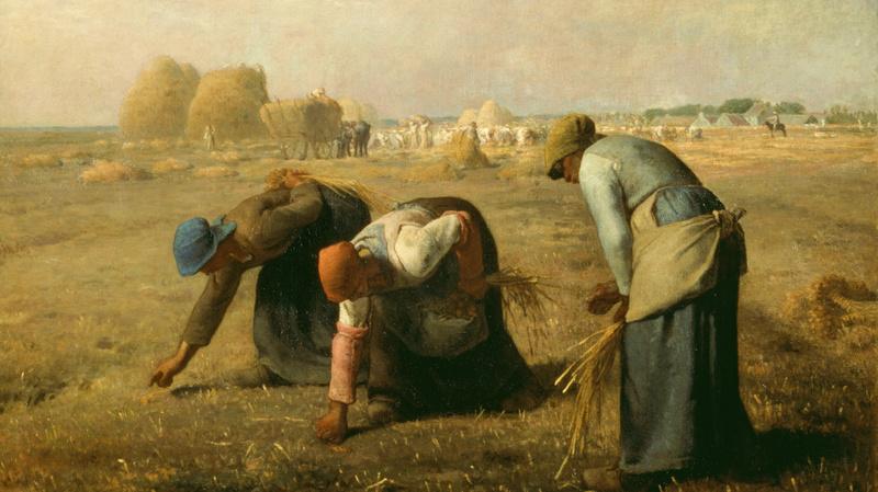 Des glaneuses dit aussi Les glaneuses, Millet, Jean-François