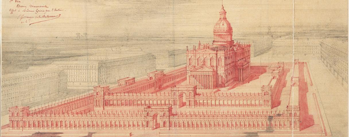 Louis Godineau de la Bretonnerie, Temple de marbre, vers 1860  ©Musée d'Orsay, Dist.RMN-Grand Palais / Patrice Schmidt