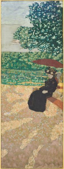 Edouard Vuillard-Jardins publics : la conversation