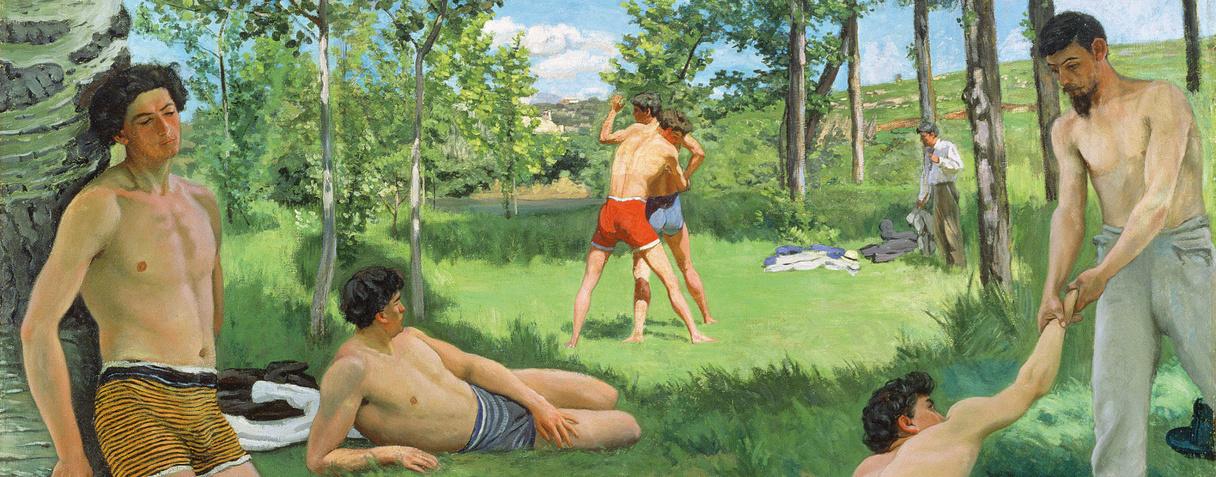 Scène d'été, Frédéric Bazille