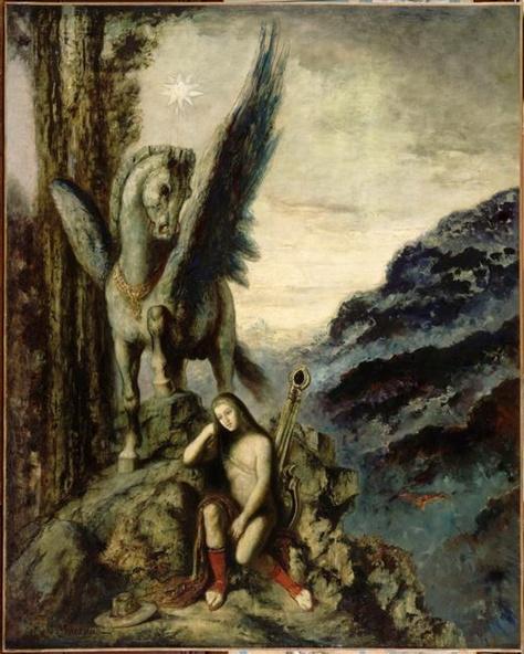 Gustave Moreau-Le poète voyageur