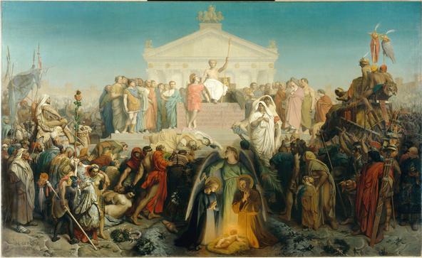 Jean-Léon Gérôme-Siècle d'Auguste: Naissance de N.S. Jésus-Christ