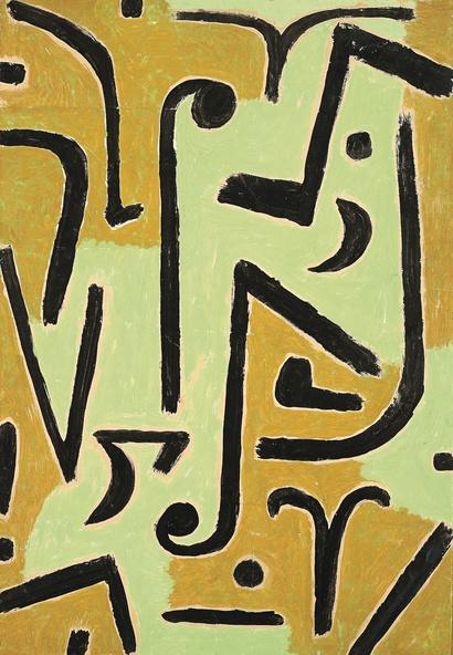 Paul Klee-Tiges / Halme