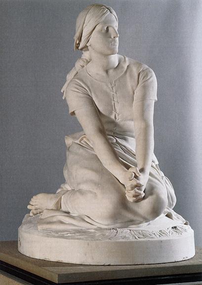 Henri Chapu-Jeanne d'Arc à Domrémy