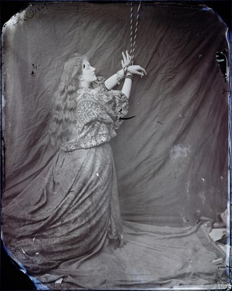 Lewis Carroll-Kate Terry en Andromède