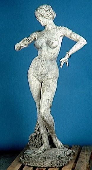 Alexandre Falguière-La danseuse (Cléo de Mérode 1881-1966)