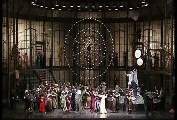 Image extraite du film Faust