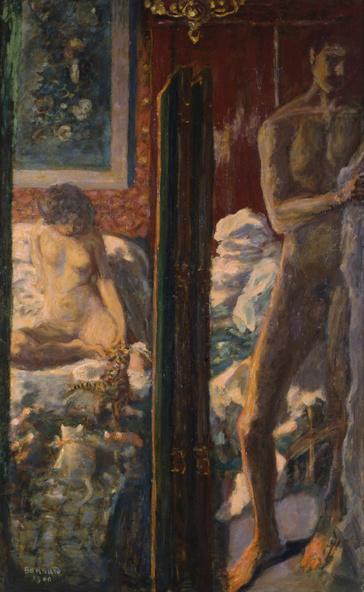 Pierre Bonnard-L'homme et la femme
