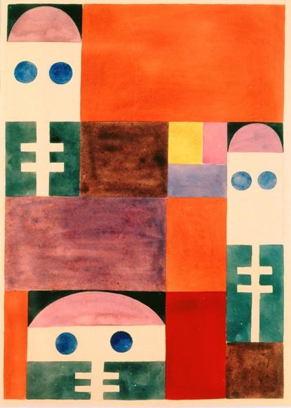 Sophie Taeuber-Arp-Motifs abstraits (masques)