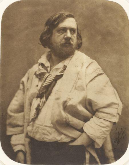 Nadar, Félix-Théophile Gautier à la blouse blanche