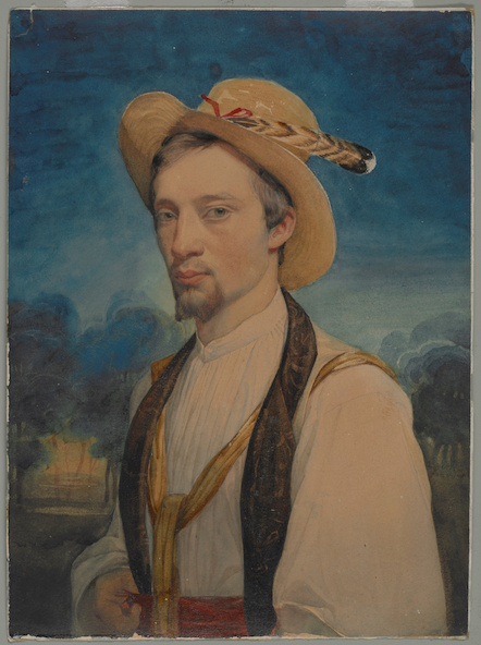 Charles Gleyre-Autoportrait