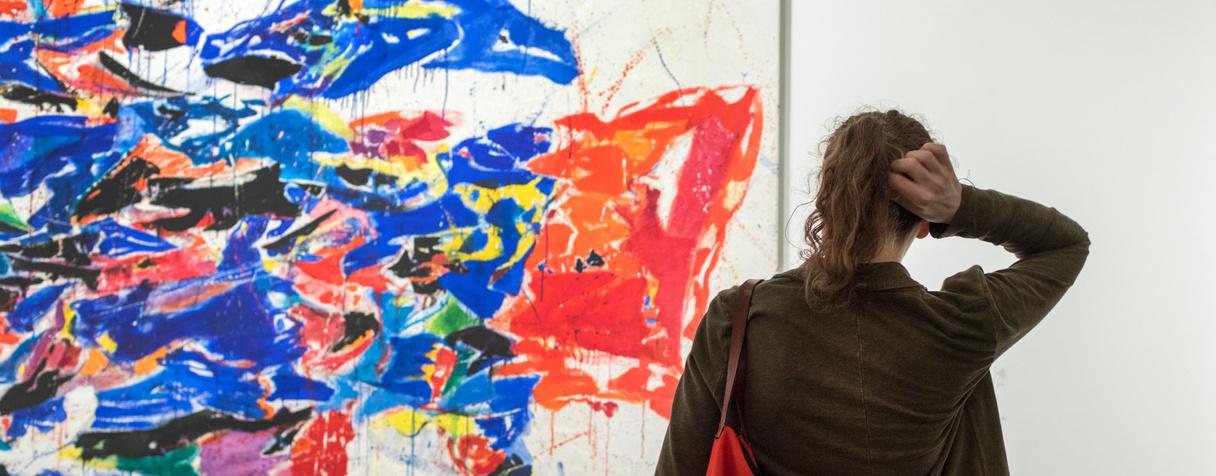 Vernissage de l'exposition « Nymphéas. L'abstraction américaine et le dernier Monet », musée d'Orsay, 12 avril 2018