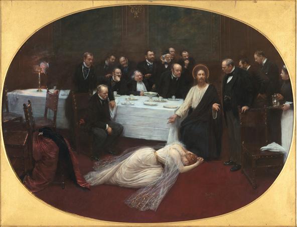 Jean Béraud-La Madeleine chez le Pharisien