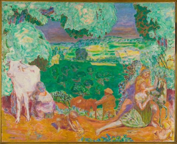 Pierre Bonnard-La symphonie pastorale