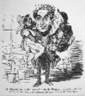 Bertall-Bulletin du Prophète-Petites nouvelles à la main in L'Illustration, journal universel