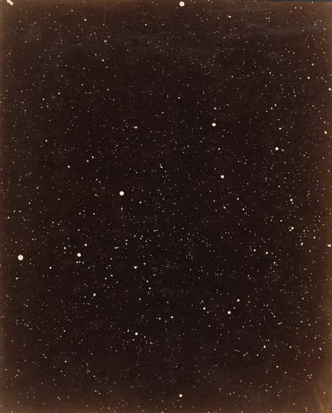 Paul et Prosper Henry-Photographie d'une portion du Cygne, 13 août 1885, Observatoire de Paris