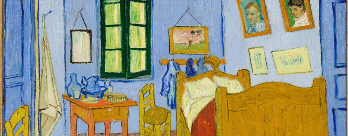 La chambre de Van Gogh à Arles (en 1889), Van Gogh, Vincent