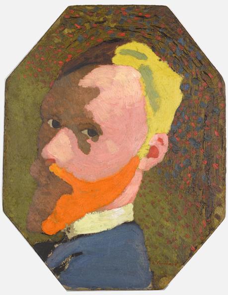 Edouard Vuillard-Autoportrait octogonal