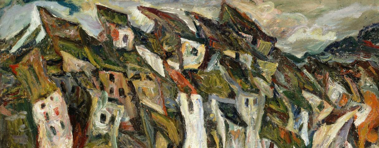 Les maisons, 1920-1921, Soutine Chaïm (1893-1943) ,, Soutine Cha?m (1893-1943) ,, Soutine Chaïm (1893-1943) ,, Soutine, Chaïm