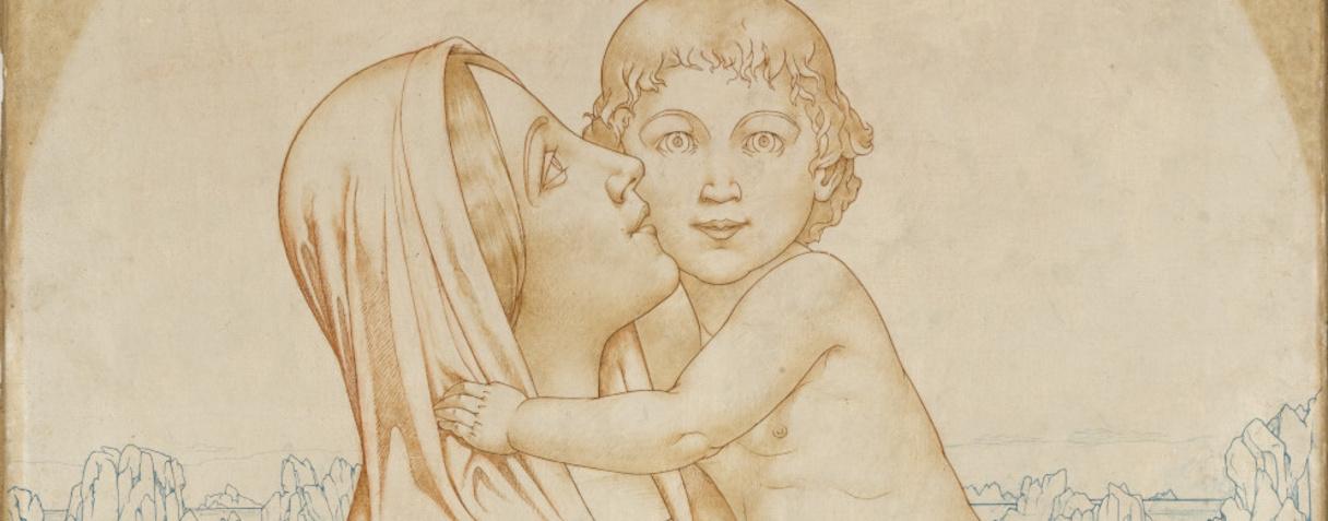 Alexandre Séon, La Vierge à l'Enfant, vers 1905  ©Musée d'Orsay, Dist. RMN-Grand Palais / Patrice Schmidt