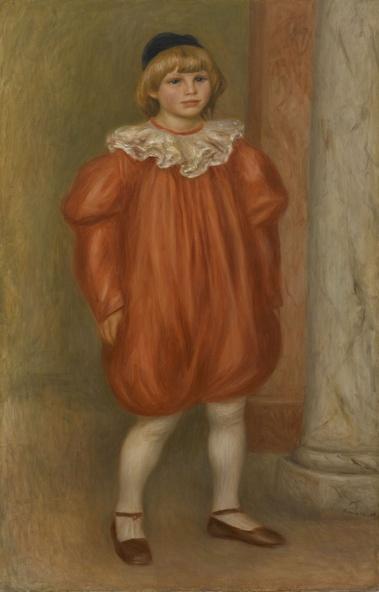 Auguste Renoir-Claude Renoir en clown
