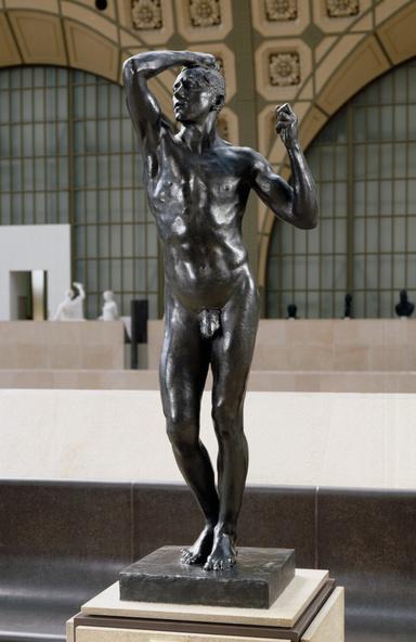Auguste Rodin-L'Age d'airain